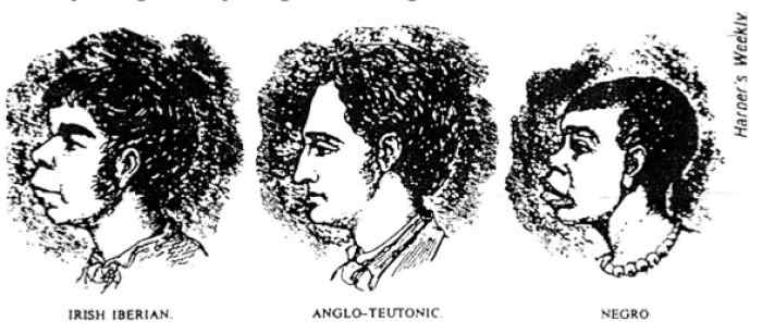 """Physiognomy, the study of facial features, was a pseudo-science used to """"legitimize"""" racism against people of color and """"lesser"""" white people"""