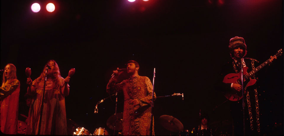 The group performs at Monterey, or the Coachella of the '60s