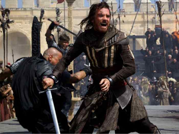 Michael Fassbender in the first Assassin's Creed trailer.