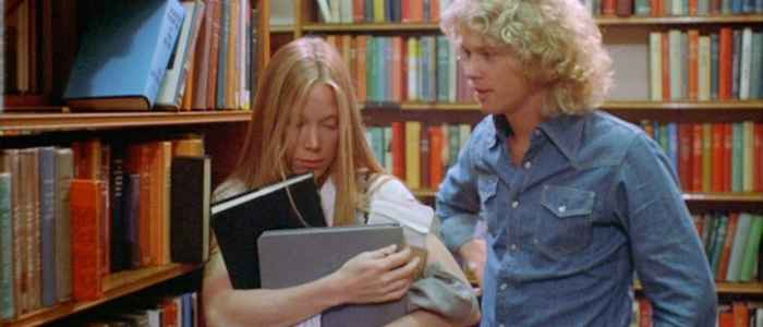 Carrie (Sissy Spacek) being asked to prom by Tommy Ross (William Katt) [1976].
