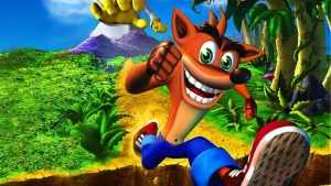 Crash Bandicoot.