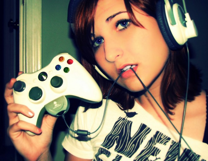 "While we're talking about Girl Gamers and the hostility they face, can we put this meme to bed? There is no ""expectation vs reality"", and forcing geek girls to conform to only one standard is how the shaming terrorists win. She (and we!) can love video games and her (our!) sexuality and should not be shamed for her (our!) passions. Gamer Girls take all shapes and forms, and it's time for us to stop knocking each other down. ""A house divided"" and all that jazz."