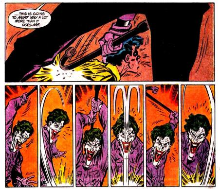 The Joker gets the last laugh on Robin.