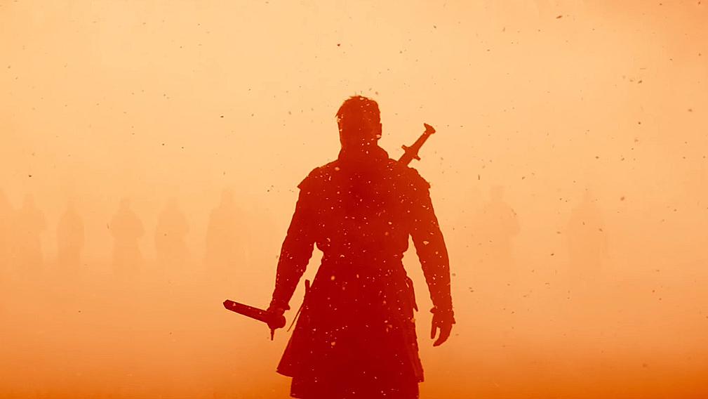 Final battle in Macbeth
