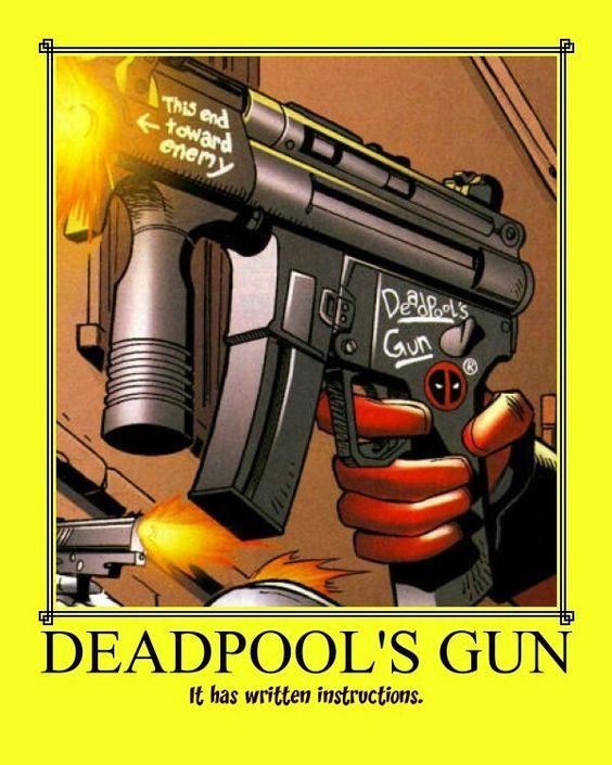 Deadpool's Gun Instructions