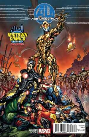 Age of Ultron comic cover