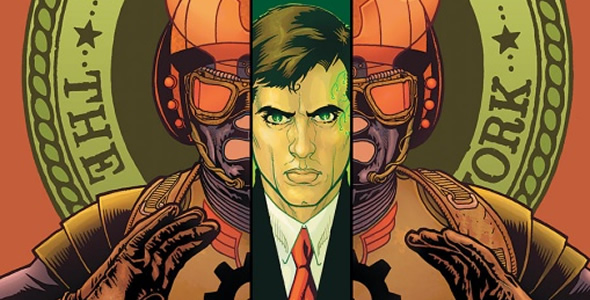 Ex Machina was written by Brian K. Vaughan, Pencilled by Tony Harris, Inked and Coloured by Tom Feister and JD Mettler, respectively. Vaughan and Harris created Ex Machina.