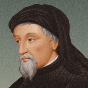 This is an image of Chaucer, which was provided by www.biography.com.