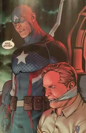 Captain America #1 2016