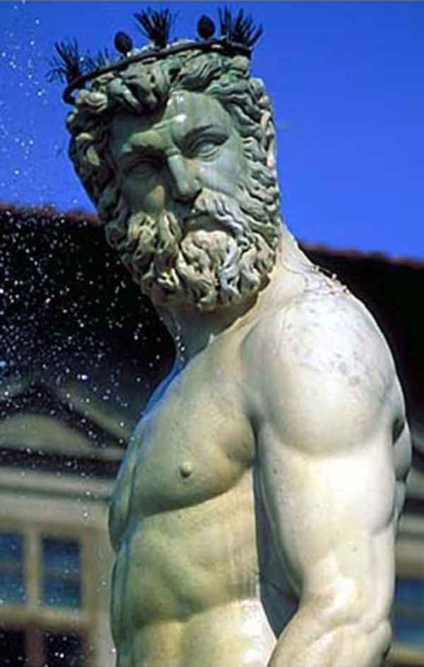Neptune intent on seduction or leading Leander toward the acquisition of Hero's virtue?