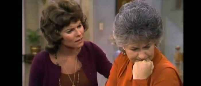 Maude reveals her unintended pregnancy to her daughter.