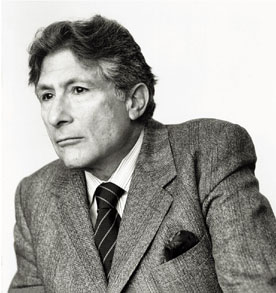 Edward Said, Professor at Columbia University, and founder of Post-Colonial Studies.