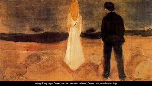 """The Solitary Ones,"" Edvard Munch"