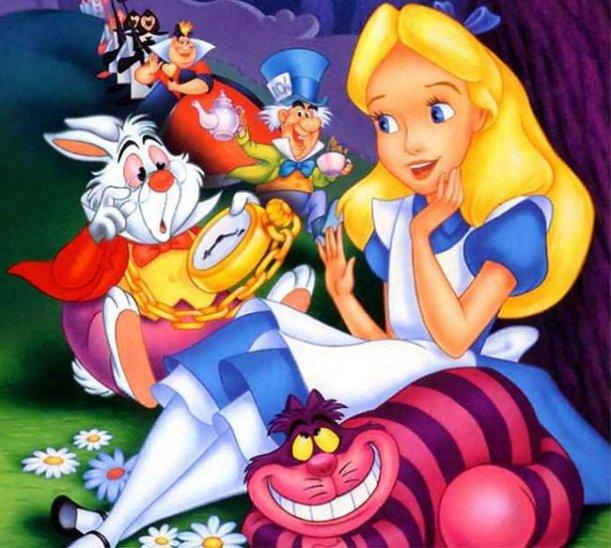Alice in Wonderland, by Charles Lutwidge Dodgson, under the pseudonym: Lewis Caroll (1865)