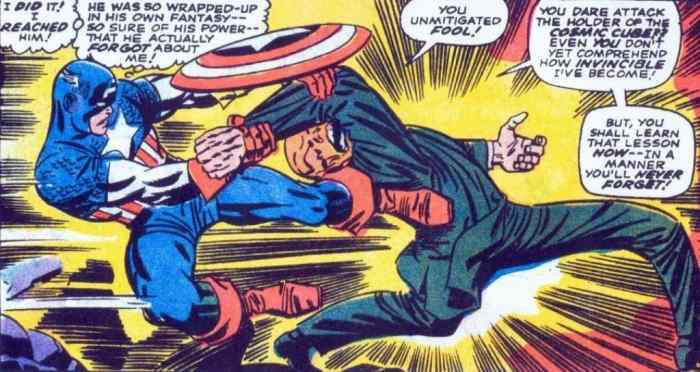 Jack Kirby / Captain America VS Red Skull