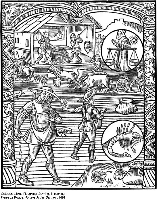 Image from William Langland's Piers Plowman (1390)