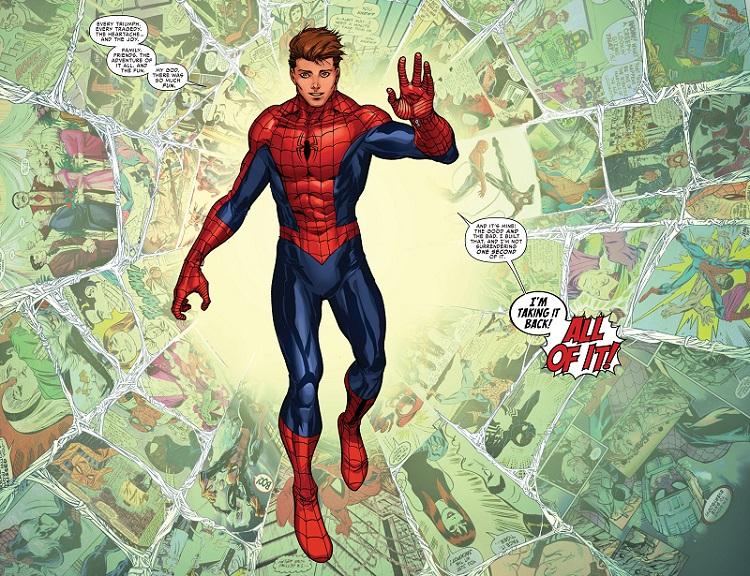 Peter Parker returns