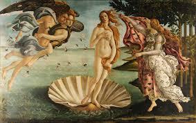 """The Birth of Venus,"" Sandro Botticelli (1486)"