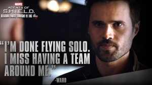 Ward moves back to Hydra after Kara's death