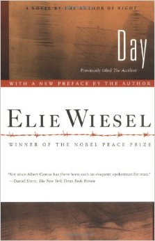 Wiesel's novel Day dealt with a young man who has to search for meaning in a world that he's sure is meaningless.