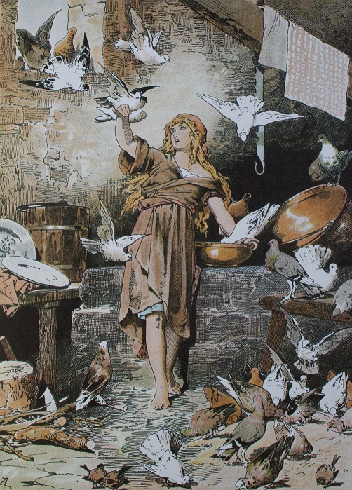 Cinderella and the Doves by Alexander Zick