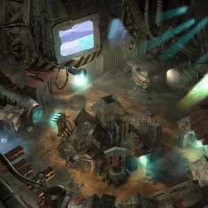 Sector 5 slums from Final Fantasy 7