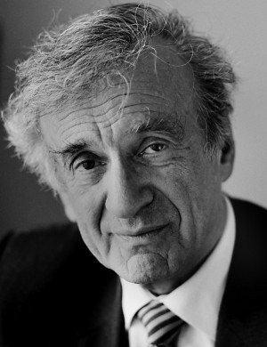 Elie Wiesel (1928-2016), author, poet, lecturer, and teacher.