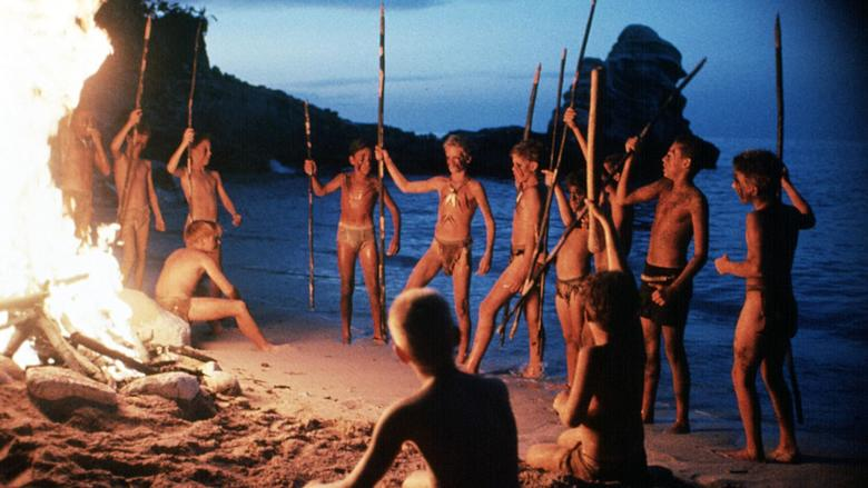The Lord of the Flies formula entails the depiction of humans descending into their primeval state.