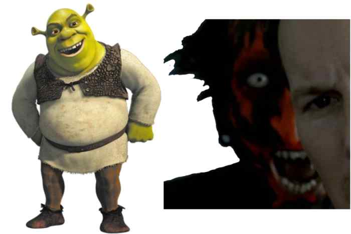 Shrek would not be a good movie recommendation for someone who's looking for something like Insidious,