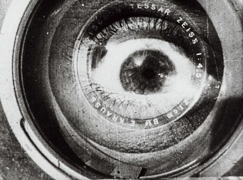 Still from the film Man With a Movie Camera, written and directed by Dzigo Vertov.