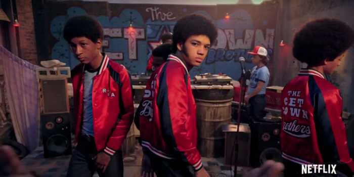 Stills from Netflix's Original Series The Get Down