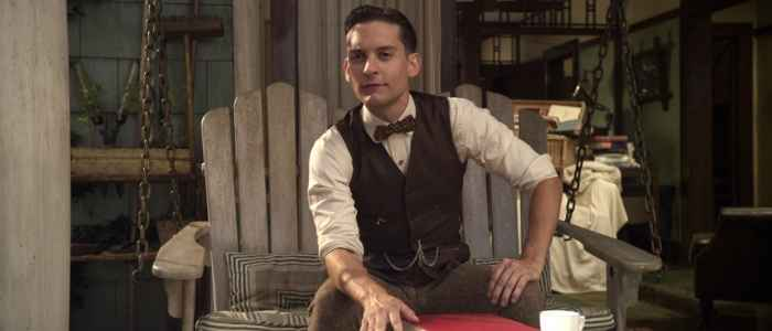 Nick Carraway in The Great Gatsby