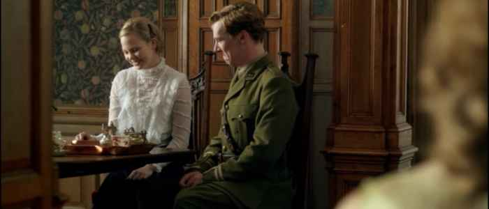 Christopher Tietjens and Valentine Wannop displaying the art of a subtle and restrained period drama romance in Parade's End (Part Three).