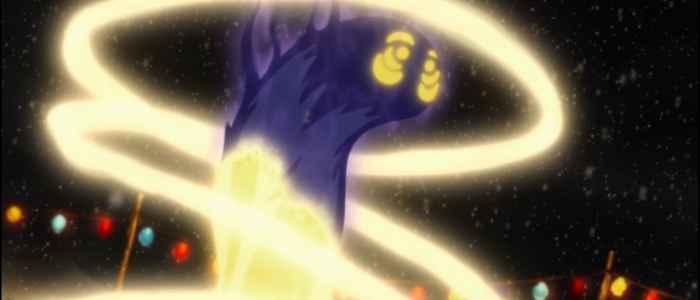 "Unalaq subduing a restless spirit in the episode ""Rebel Spirit."""