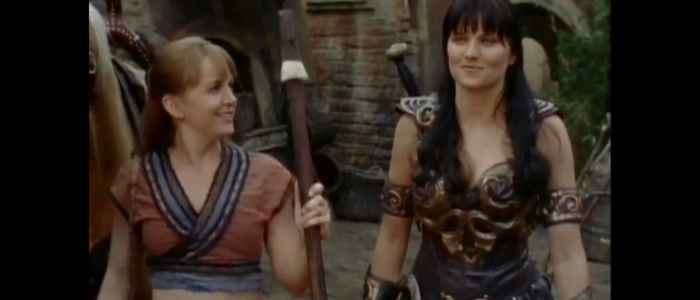 "Xena and Gabrielle's friendship on display after Xena nearly loses her life in ""The Greater Good"" episode."