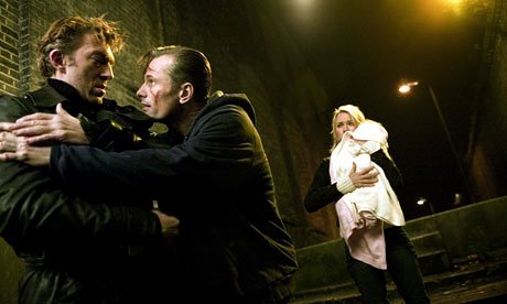 Nikolai and Anna convince Kirill not to kill Christina in Eastern Promises.