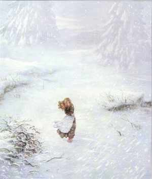 Gerda lost in the snow