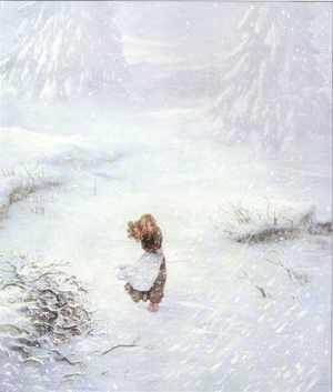 Gerda lost in the snow