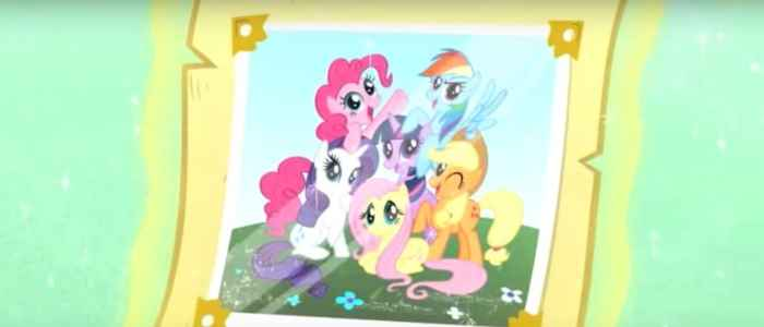 The rampant friendship themes in kids' entertainment, as in the theme song for My Little Pony: Friendship is Magic. Author's screenshot captured via YouTube.