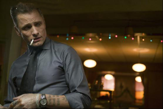 Nikolai juggles contradictory identities in Eastern Promises.