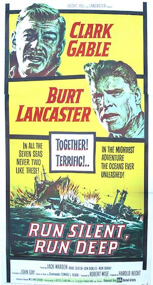 "Submarine movies like Run Silent, Run Deep (1958) influenced ""Balance of Terror."""