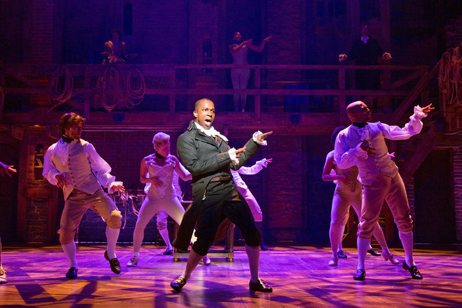 Burr wants to be in the room where it happens.