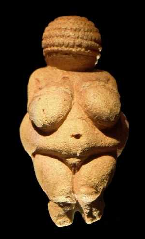 The Venus of Willendorf is one of the many figurines of Venus from the Paleolithic period. It is significant in relation to the ancient notion of beauty.