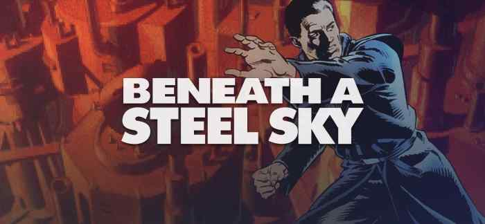 Beneath a Steel Sky, a 1994 Point and Click MSDOS Game