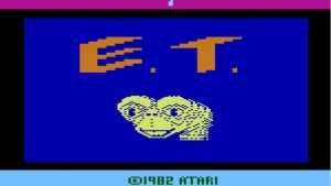 E.T. for Atari is a game that is famous for its horrible controls, and its annoying interactivity. It was pin-pointed as one of the causes of the North American Video Game Crash of 1983