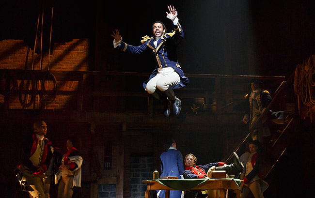 Lafayette is a dynamic immigrant character in Hamilton
