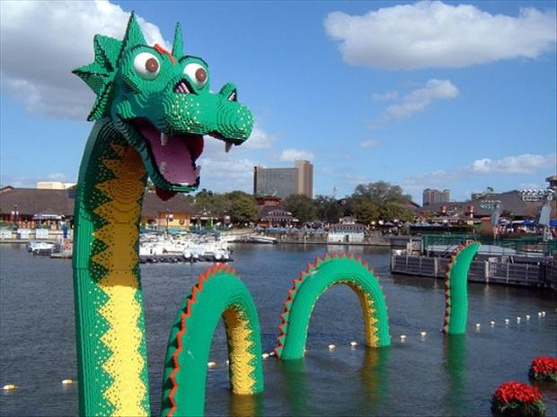 Lego Sea Serpent, A Visually Stunning Combination of Toys and Art