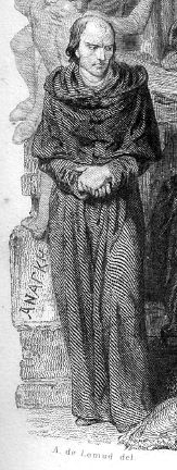 The brooding, conflicted archdeacon of the novel.