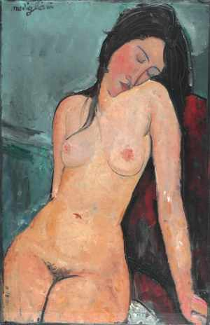 Modigliani, Female Nude