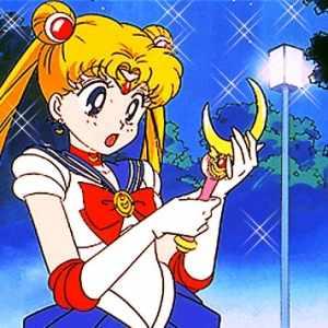 Sailor Moon's Weapon the Moon Stick